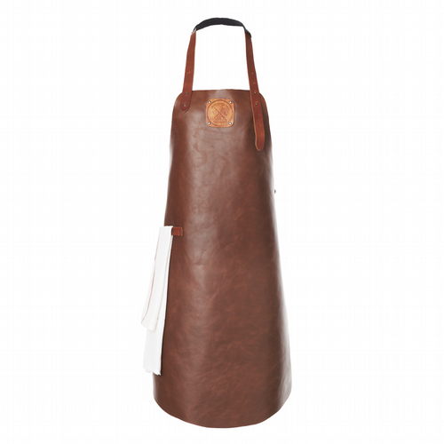 Apron Leather - Unisex - Cognac